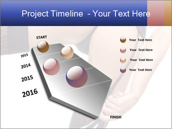 Lady Wearing Sexy Stockings PowerPoint Template - Slide 26