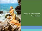 Magic Mermaid PowerPoint Templates