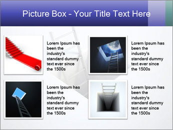 Ladder in Floor Hole PowerPoint Templates - Slide 14