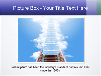 Ladder in Floor Hole PowerPoint Templates - Slide 15