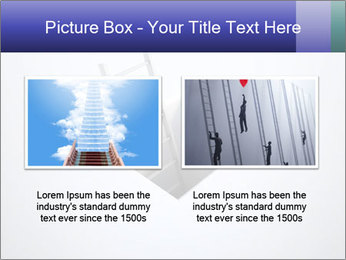 Ladder in Floor Hole PowerPoint Templates - Slide 18