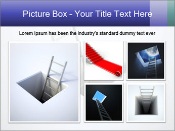 Ladder in Floor Hole PowerPoint Templates - Slide 19