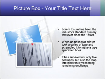 Ladder in Floor Hole PowerPoint Templates - Slide 20