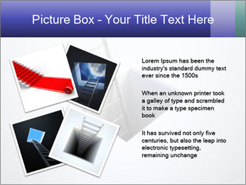 Ladder in Floor Hole PowerPoint Templates - Slide 23