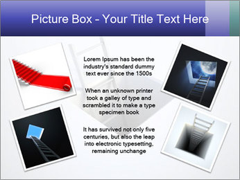 Ladder in Floor Hole PowerPoint Templates - Slide 24