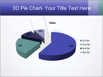 Ladder in Floor Hole PowerPoint Templates - Slide 35