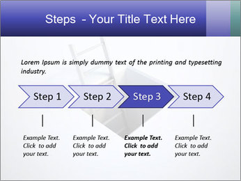 Ladder in Floor Hole PowerPoint Templates - Slide 4