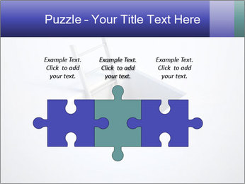 Ladder in Floor Hole PowerPoint Templates - Slide 42