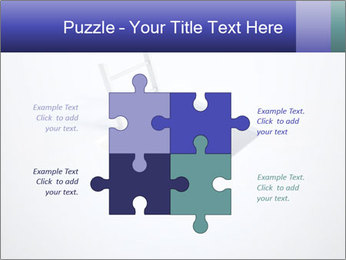 Ladder in Floor Hole PowerPoint Templates - Slide 43