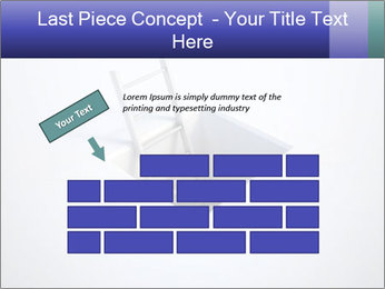 Ladder in Floor Hole PowerPoint Templates - Slide 46