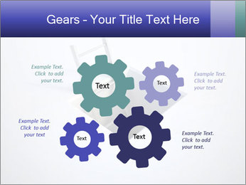 Ladder in Floor Hole PowerPoint Templates - Slide 47