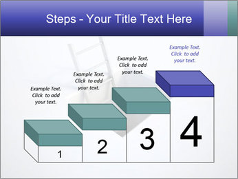 Ladder in Floor Hole PowerPoint Templates - Slide 64