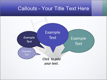 Ladder in Floor Hole PowerPoint Templates - Slide 73