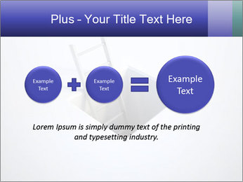Ladder in Floor Hole PowerPoint Templates - Slide 75