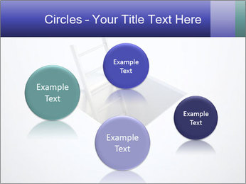 Ladder in Floor Hole PowerPoint Templates - Slide 77