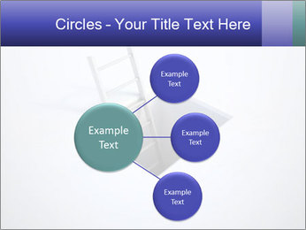 Ladder in Floor Hole PowerPoint Templates - Slide 79