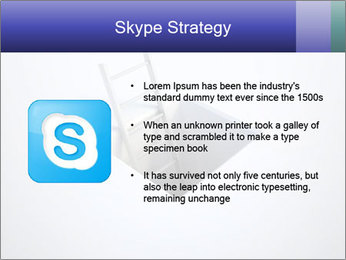Ladder in Floor Hole PowerPoint Templates - Slide 8