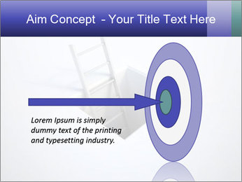 Ladder in Floor Hole PowerPoint Templates - Slide 83