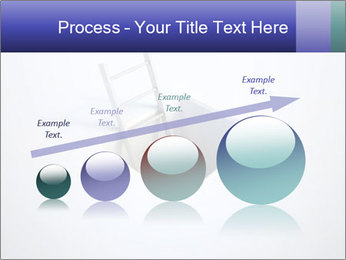 Ladder in Floor Hole PowerPoint Templates - Slide 87