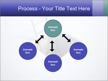 Ladder in Floor Hole PowerPoint Templates - Slide 91