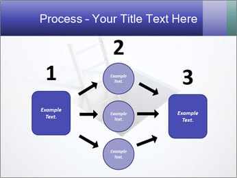 Ladder in Floor Hole PowerPoint Templates - Slide 92