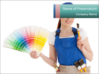 Professional Color Guide PowerPoint Templates - Slide 1