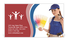 0000063885 Business Card Template
