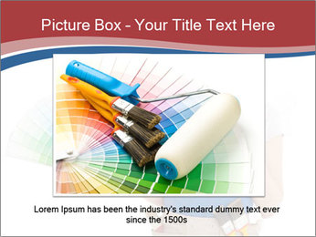 Painter Holding Color Guide PowerPoint Templates - Slide 15