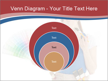 Painter Holding Color Guide PowerPoint Templates - Slide 34