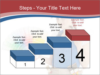 Painter Holding Color Guide PowerPoint Templates - Slide 64