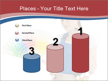 Painter Holding Color Guide PowerPoint Templates - Slide 65