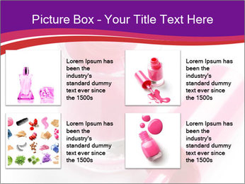 Bright Nail Polish PowerPoint Templates - Slide 14