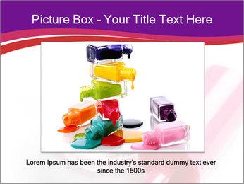 Bright Nail Polish PowerPoint Templates - Slide 16