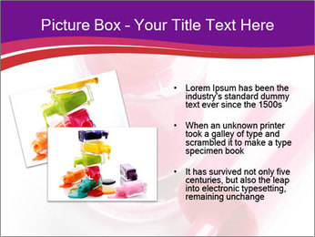 Bright Nail Polish PowerPoint Templates - Slide 20