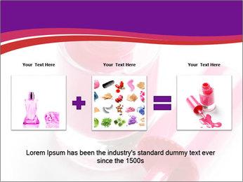 Bright Nail Polish PowerPoint Templates - Slide 22