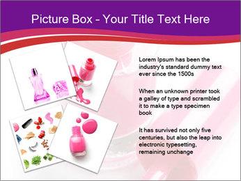 Bright Nail Polish PowerPoint Templates - Slide 23