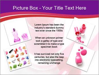 Bright Nail Polish PowerPoint Templates - Slide 24