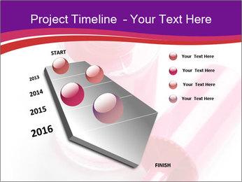 Bright Nail Polish PowerPoint Templates - Slide 26
