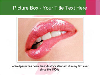 Open Bottle of Pink Nail Polish PowerPoint Template - Slide 15