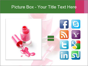 Open Bottle of Pink Nail Polish PowerPoint Template - Slide 21