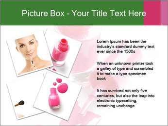 Open Bottle of Pink Nail Polish PowerPoint Template - Slide 23