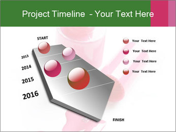 Open Bottle of Pink Nail Polish PowerPoint Template - Slide 26