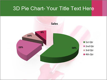 Open Bottle of Pink Nail Polish PowerPoint Template - Slide 35