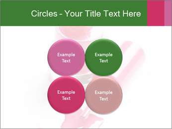 Open Bottle of Pink Nail Polish PowerPoint Template - Slide 38