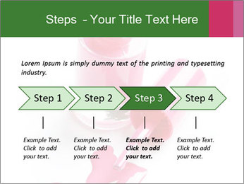 Open Bottle of Pink Nail Polish PowerPoint Template - Slide 4
