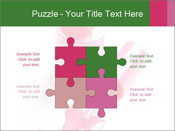 Open Bottle of Pink Nail Polish PowerPoint Template - Slide 43