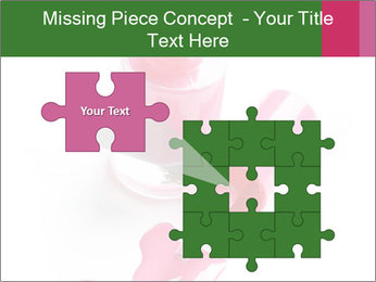 Open Bottle of Pink Nail Polish PowerPoint Template - Slide 45