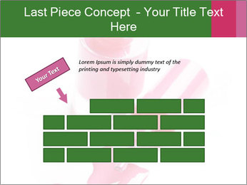 Open Bottle of Pink Nail Polish PowerPoint Template - Slide 46
