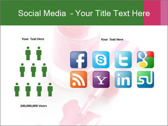 Open Bottle of Pink Nail Polish PowerPoint Template - Slide 5
