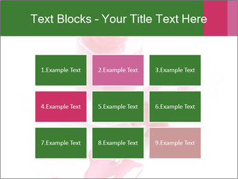 Open Bottle of Pink Nail Polish PowerPoint Template - Slide 68